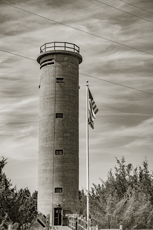 WW II Fire control tower 23, NJ