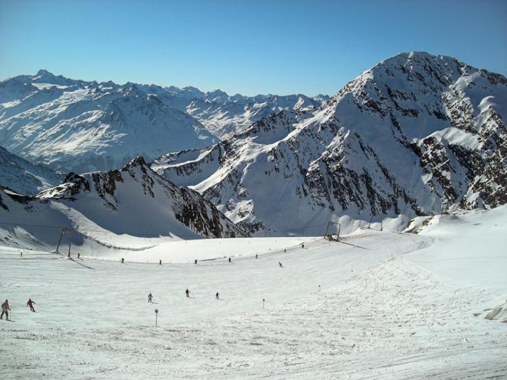 Stubaier glacier